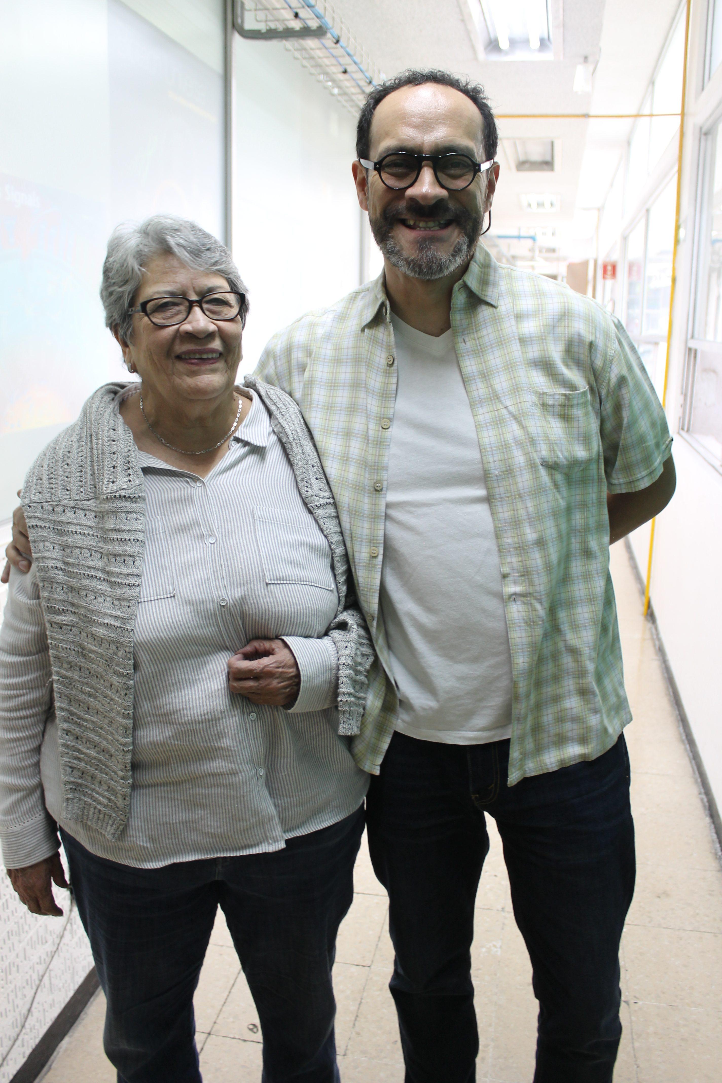 Concepcion Gomez y Oscar Flores